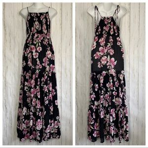 Intimately Free People Maxi Dress Sz XS Floral Lay